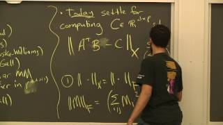 Algorithms for Big Data (COMPSCI 229r), Lecture 15