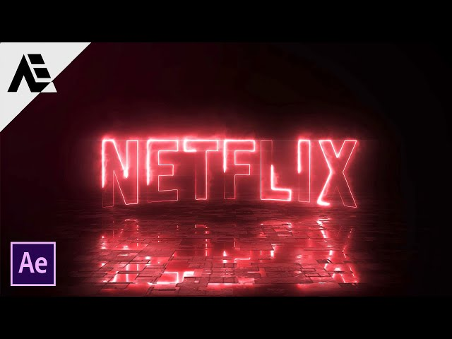 After Effects Tutorial: Electric Neon Logo Animation In After Effects (Saber-Plugin)