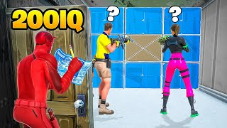 10 Minutes of 200 IQ PLAYS in Fortnite