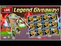 Ninja Legends Pet Giveaway! | Christmas Update! Live (12/14)