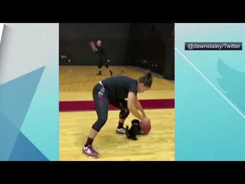South Carolina women's basketball gets an adorable new puppy teammate!