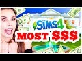 MOST EXPEN$IVE BUILD CHALLENGE! [ The Sims 4 ]