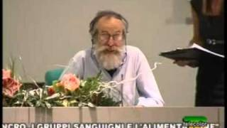 Repeat youtube video Piero Mozzi - Alimentazione e Tumori