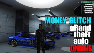 GTA 5 ONLINE FROZEN MONEY GLITCH FAST AND EASY TO MAKE MILLIONS