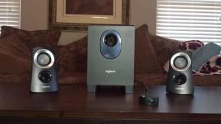 Logitech Z313 - Sound Test!!
