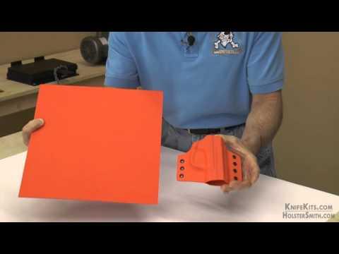 KYDEX® Sheet - Solid Color Series - Hunter Orange