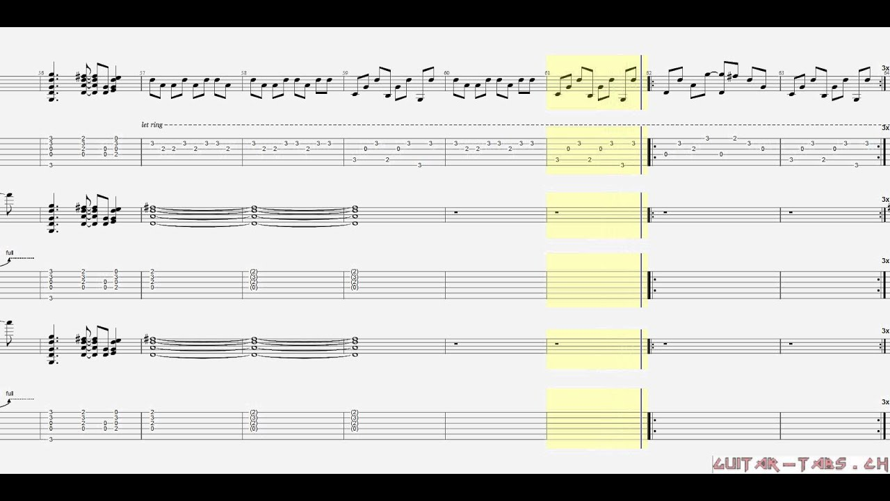 More Than A Feeling Guitar Chords Images Basic Guitar Chords