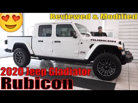 2020 Jeep Gladiator Rubicon Reviewed & Modified