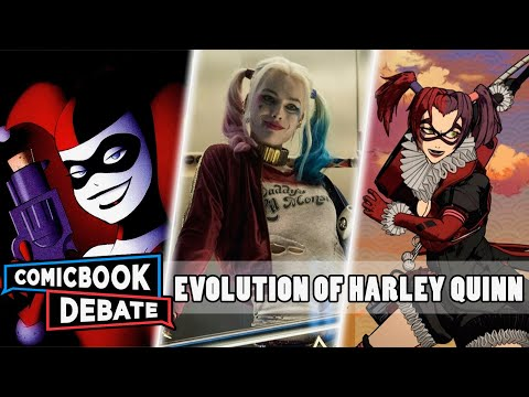Evolution of Harley Quinn in Cartoons Movies & TV in 22 Minutes 2018