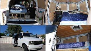 astro van camper conversion tour stealth functional and efficient