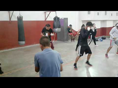 Cd Juárez boxeo amateur entrenamiento, G/money-rios.