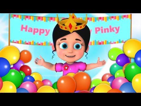 Pinky Ka Birthday   जन्मदिन कि शुभ कामनाएं   Birthday In Hindi   Kids Rhymes In Hindi   Hindi Poem