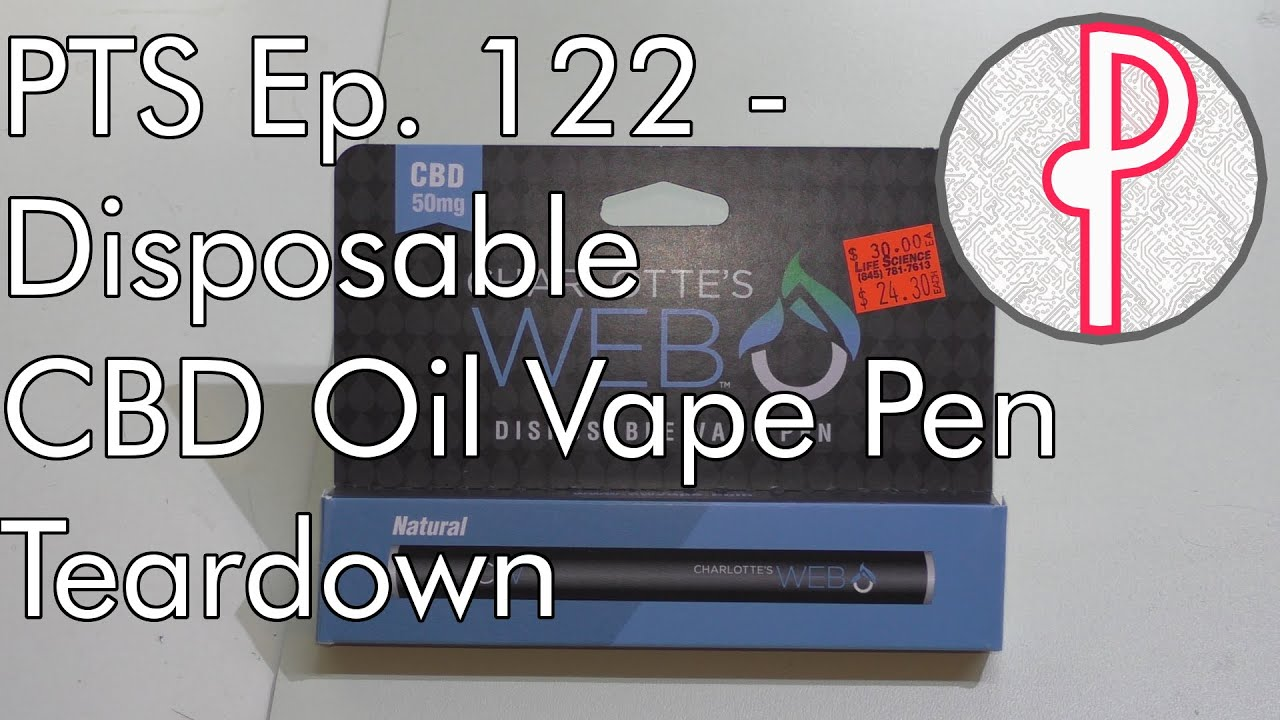 PTS Ep  122 - Disposable Vape Pen Teardown