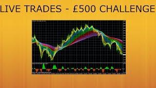 LIVE TRADES - £500 CHALLENGE - TRADING 212 #7