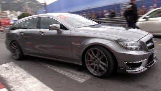 740HP RENNtech Mercedes-Benz CLS63 AMG Shooting Brake in Action!