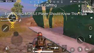 Every PUBG MOBILE Player Should Know This Trick - Best Trick/Glitch