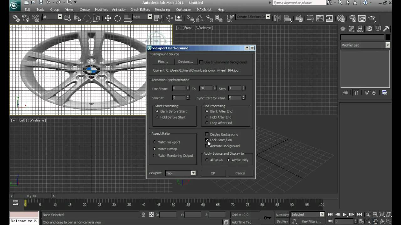 Background image 3ds max viewport - Changing Viewport Backgrounds 3ds Max Theikjh78