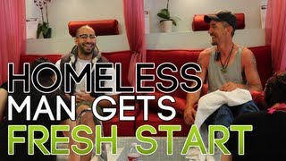 HOMELESS MAN GETS FRESH START! thumbnail