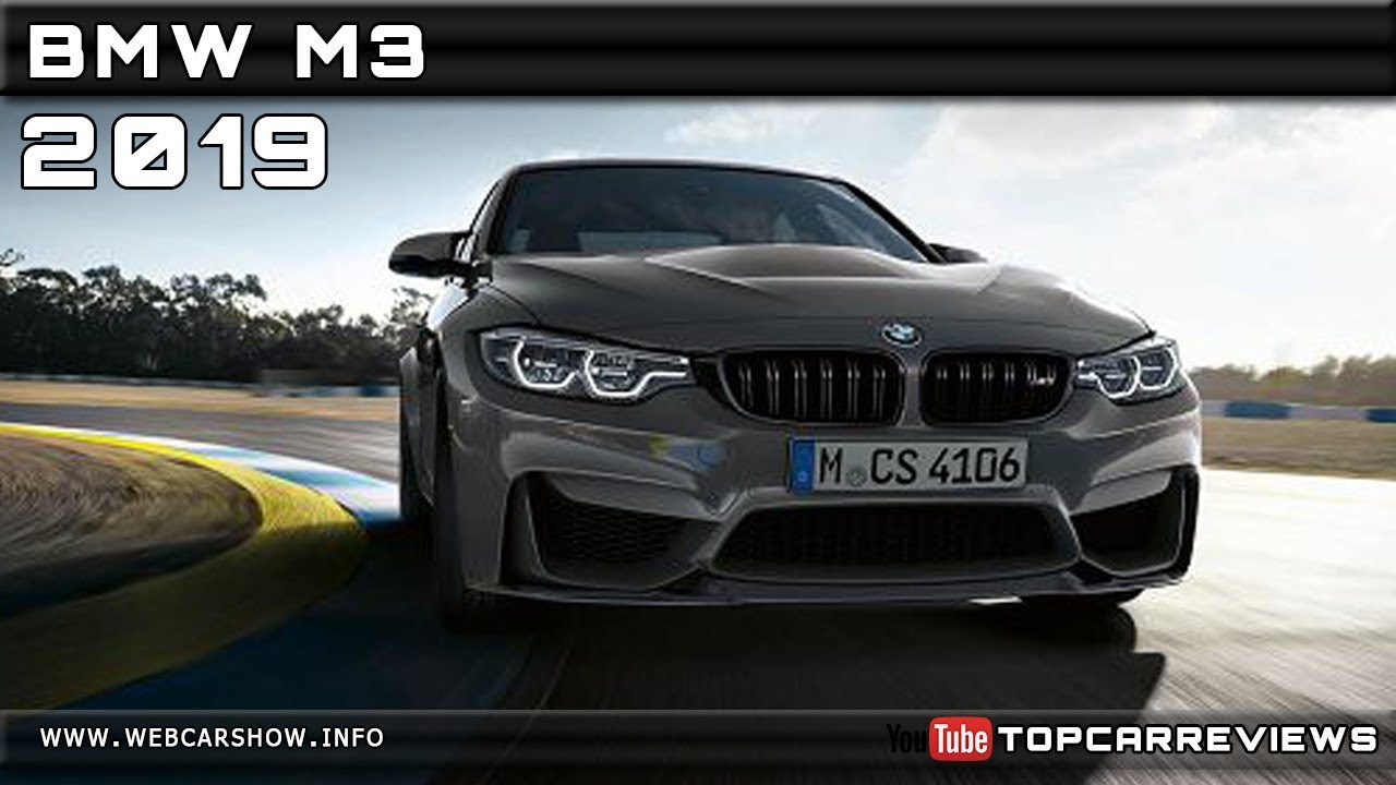 2019 bmw m3 review rendered price specs release date