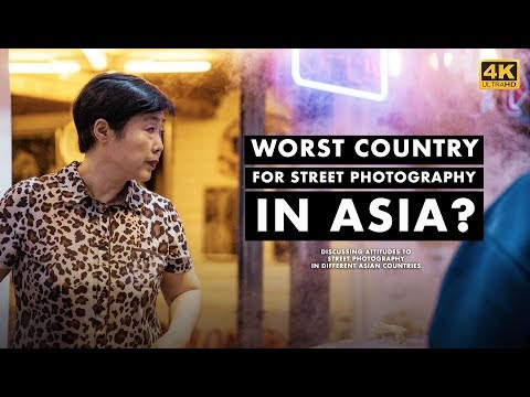WORST Country For STREET PHOTOGRAPHY In ASIA? || Attitudes To Street Photography.