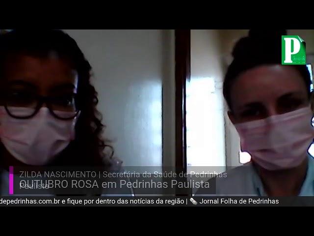 OUTUBRO ROSA | Pedrinhas Paulista