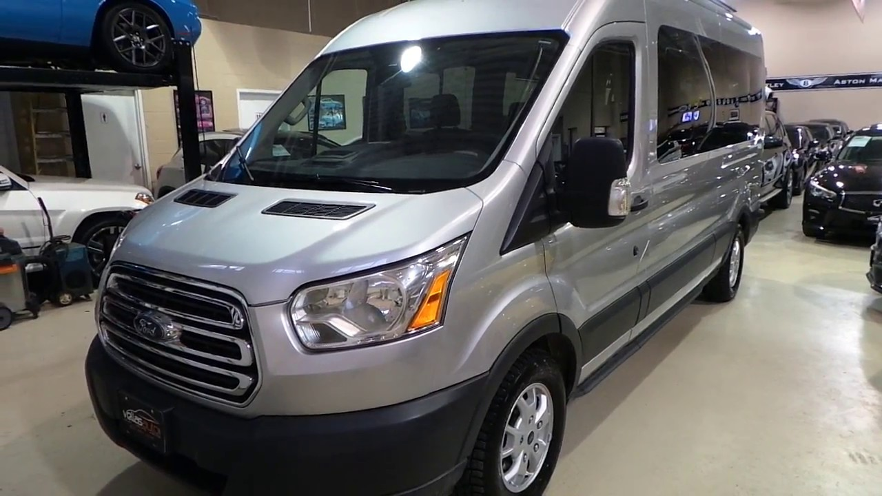 Ford Transit Wagon >> 2015 Ford Transit XLT T350 15 Passenger - YouTube