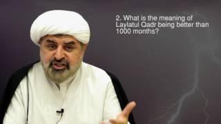 My Divine Book- Sheikh Bahmanpour Tuesday 28th June Surah Qadr Answers