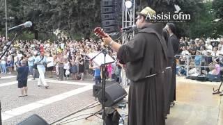 XXXV Marcia Francescana: arrivo gruppo Umbria-Sardegna