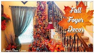 Fall Farmhouse Decorate With Me | Tuscan Farmhouse Entryway Decor