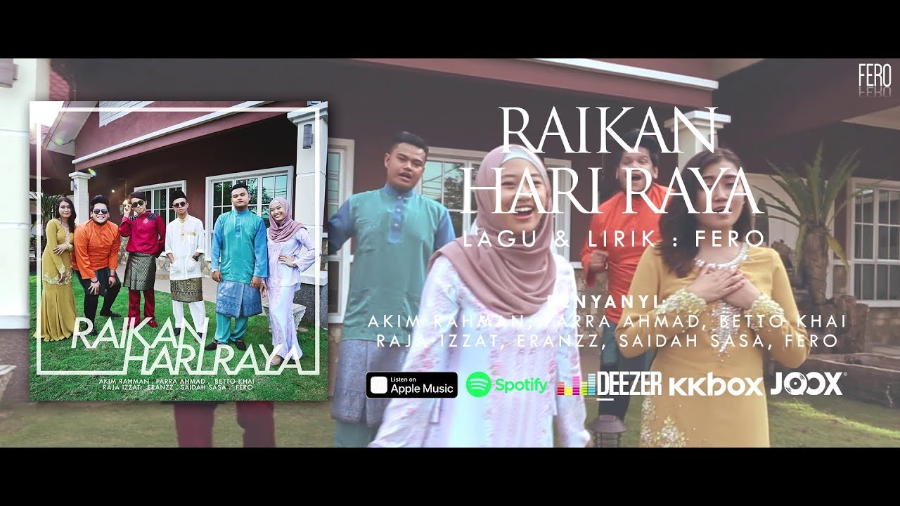 Artis Baru Nak Up (ABNU) - Raikan Hari Raya (Official ...