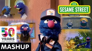 Sesame Street: Grover's Jobs Through the Years Mashup | #Sesame50