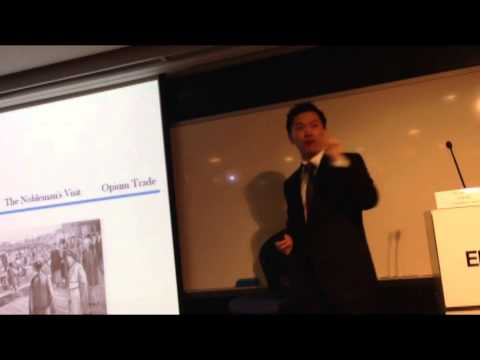 GU YOU on Chinese History (Qing Dynasty): The First Opium War [delivered at CUHK EMBA] (1/3)