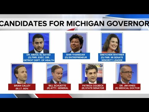 Race For Michigan Governor Is Wide Open With The Primaries On The Horizon Youtube