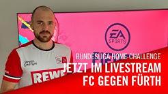 Livestream: 1. FC Köln - SpVgg Greuther Fürth   Bundesliga Home Challenge
