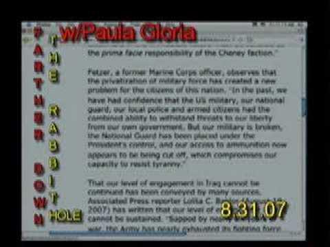 Paula Gloria Reads about the Kennebunkport Warning