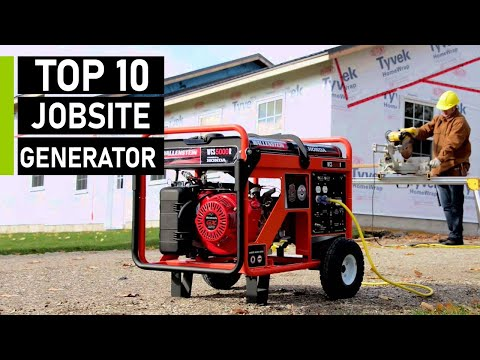 Top 10 Best Portable Generators for Jobsite & Emergency Backup