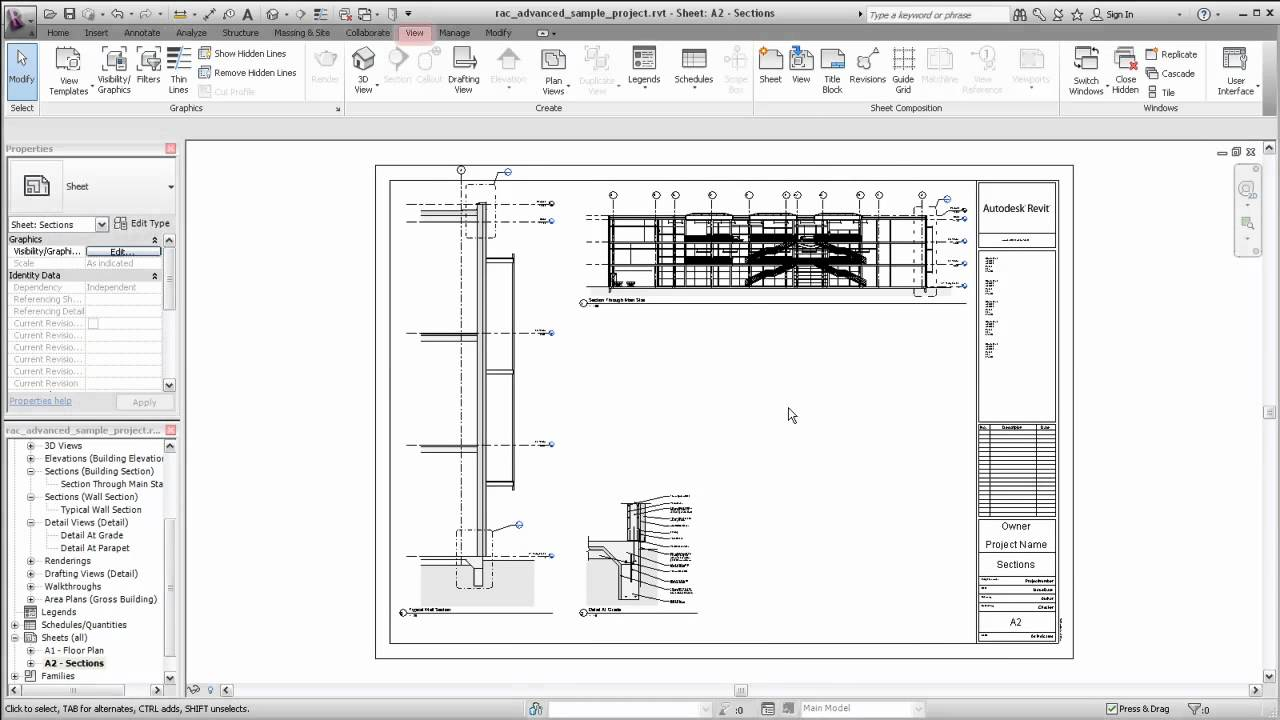 Autodesk Revit Creating Sheet Views Youtube