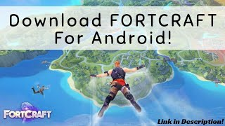 Download FortCraft Apk + Data For Android/iOS! Fortnite Clone