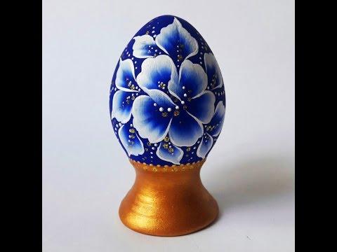 Роспись яйца в