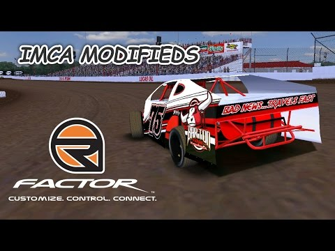 rFactor: High Wide & Handsome (Modifieds @ Lucas Oil Speedway)