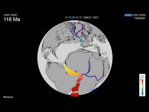 Extension velocities along Pangea