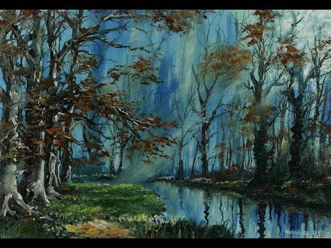 Spring Light – Time Lapse Painting