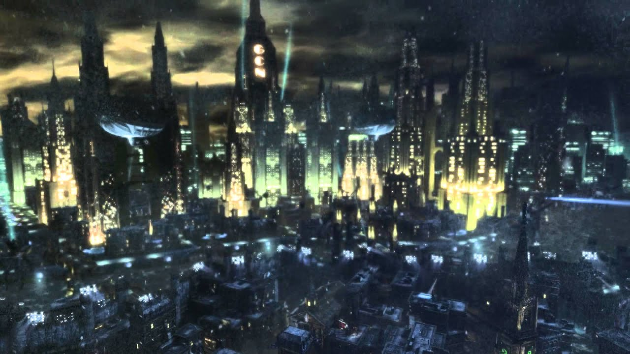 live video wallpaper - batman arkham city (hd) - youtube