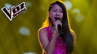 Caliope canta 'Nunca voy a olvidarte' | Audiciones a ciegas | La Voz Teens Colombia 2016