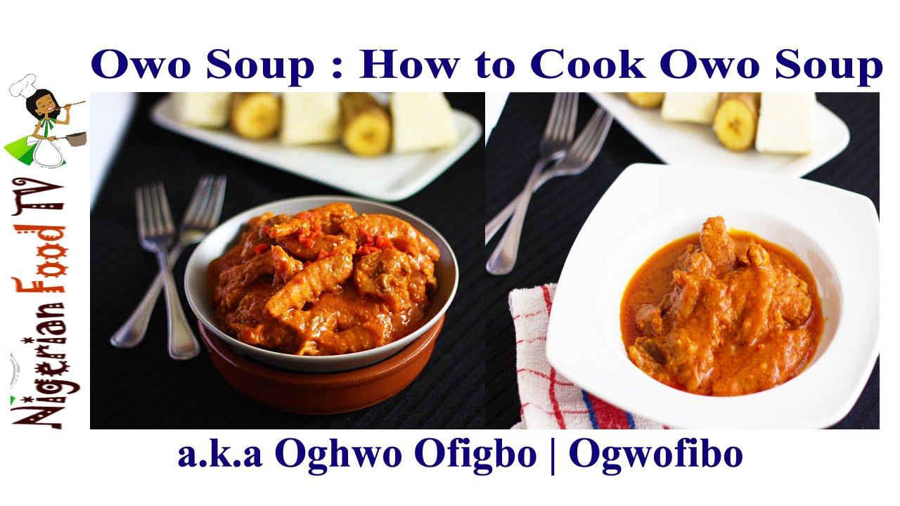 Owo soup recipe how to cook ogwo ofibo saucebini style youtube forumfinder Gallery