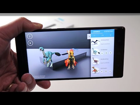 Lenovo Phab 2 Pro Augmented Reality Smartphone Demo And Review - HotHardware