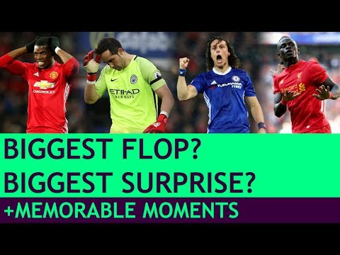 WHO'S THE BIGGEST FLOP? Alternative Premier League Awards 2016/17