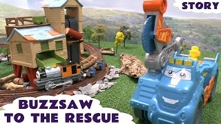 Thomas and Friends Rescue Story Play Doh Diggin Rigs Buzzsaw Bash Dash Misty Island Playdough