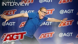 Interview: Greg Morton Chats About His Hopes And Goals After AGT! - America's Got Talent 2019