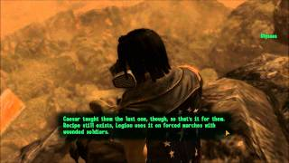 Fallout New Vegas: Lonesome Road - Talking to Ulysses After the Ending